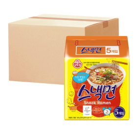 스낵면 멀티팩 1박스(40봉)