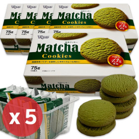 Tipo Matcha Cookies 75g x 5pcs/OREO/TATAWA /Snack/Glazin