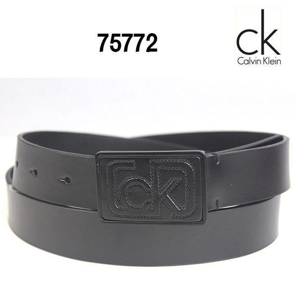 CK 캘빈클라인 벨트 75772 블랙/남성벨트/CK 벨트 상품이미지