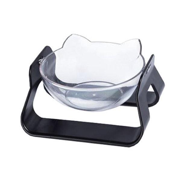 각도조절 고양이 강아지 밥그릇 식기 블랙1+1 무료배송 상품이미지