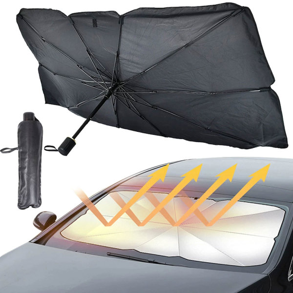 자동차앞유리 소형햇빛가리개 차박용 우산형햇빛가림막 상품이미지