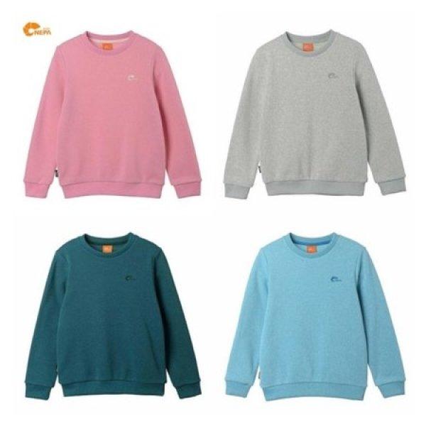 (파주점) 네파키즈  그라티아 기모 스웨터 티셔츠 공용 (KDF5310) 상품이미지