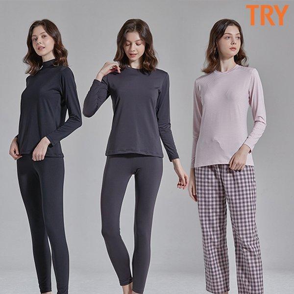 TRY(트라이) - 여성추동내의2세트 + 이지웨어1세트 상품이미지