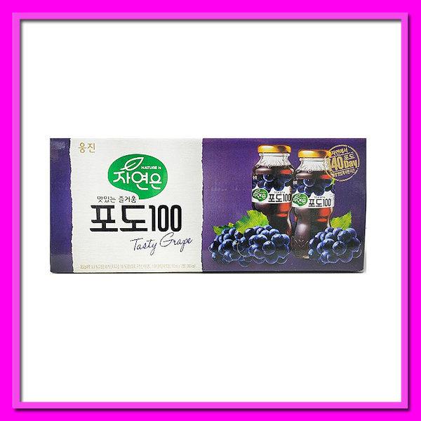 자연은 포도 꼬마병음료 180ml 12병 골라담기 상품이미지
