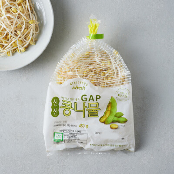 GAP신선콩나물/450g 상품이미지
