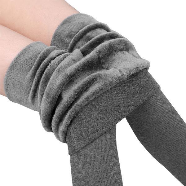 골지 융털 레깅스/발열 밍크 타이즈/여성 기모 바지 상품이미지