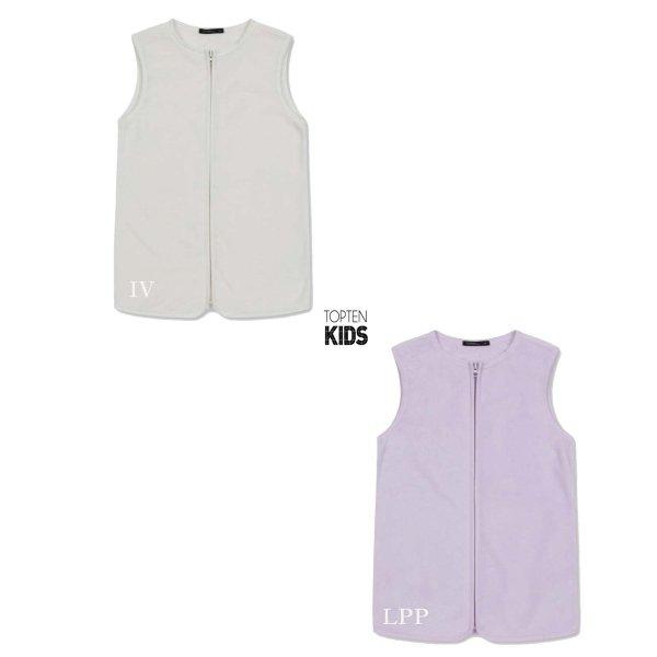 (신세계타임스퀘어점패션관)MKA4VI3101   아동) 쉘파 베스트(수면조끼) 상품이미지