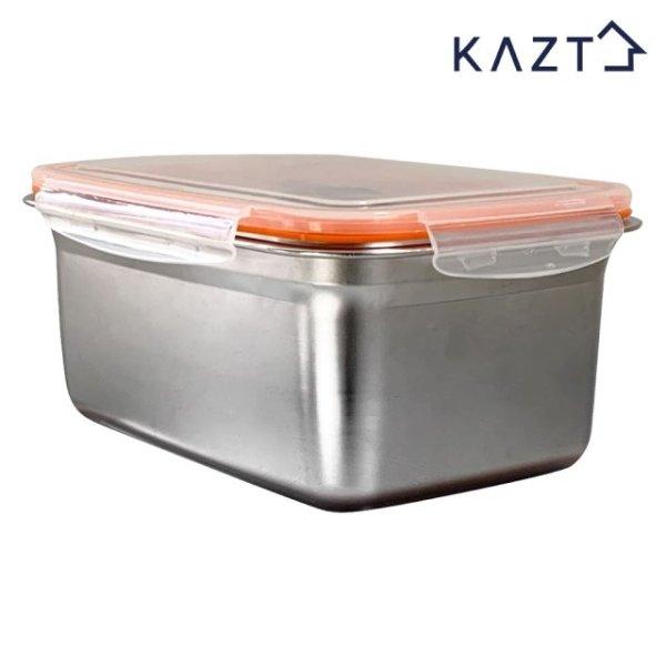 가쯔 냉장고정리 스텐 반찬 밀폐용기 5호 2800ml 1개 상품이미지