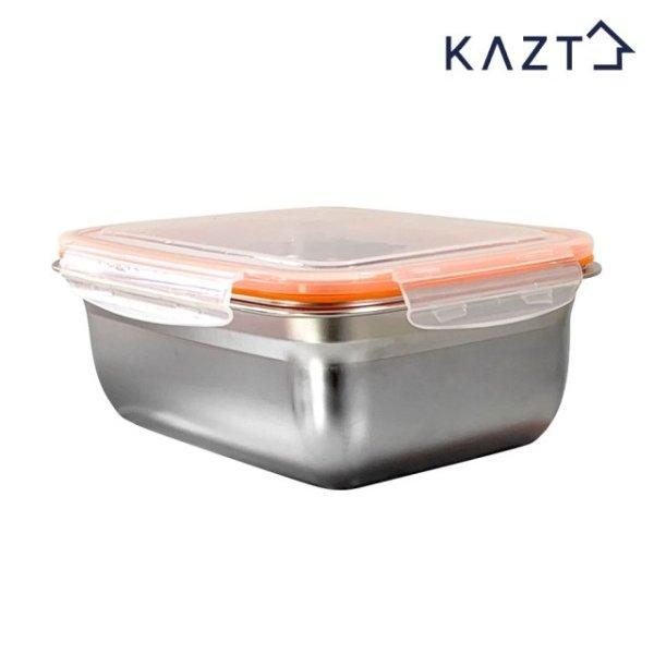 가쯔 냉장고정리 스텐 반찬 밀폐용기 4호 1800ml 1개 상품이미지