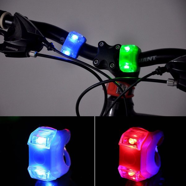 자전거 킥보드 바이크 3단 불빛 개구리 라이트-화이트 상품이미지