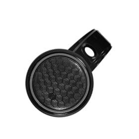 파워핸들 자동차 핸들봉 파워봉 -토드실리콘 블랙