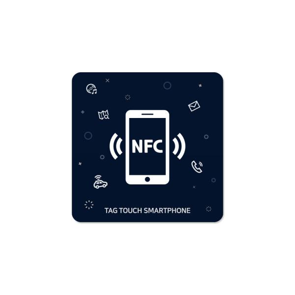 NFC 태그 스티커 NTag213 칩 라벨 카드 인쇄 제작 34T 상품이미지