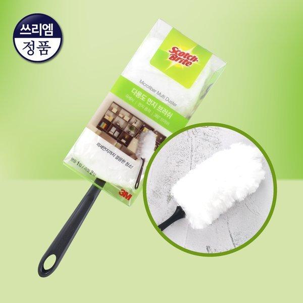 3M 다용도 먼지 브러쉬 핸들1입 리필2입/미세먼지청소 상품이미지