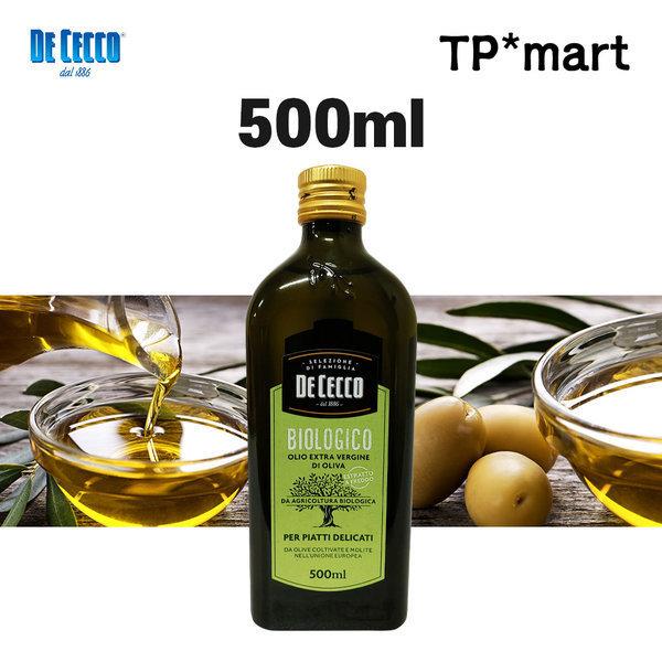 이탈리아 데체코 유기농 엑스트라버진 올리브유 500ml 상품이미지