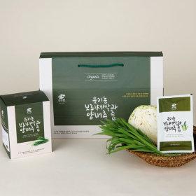 유기농 보리새싹과 양배추즙 85mlx30팩