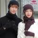여성 겨울 방한 비니+마스크+기모 극세사 넥워머 세트