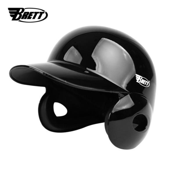 브렛 프로페셔널 양귀 야구 헬멧(유광블랙) 베팅 헬멧/ 브렛 상품이미지