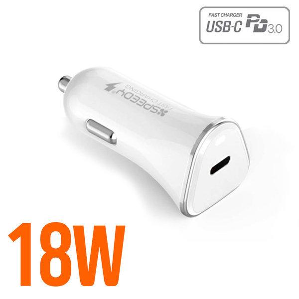 (차량용) 아이폰 전용 PD 고속충전기 18W (케이블별도) 상품이미지