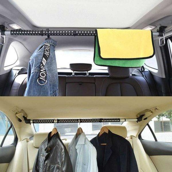 (핫트랙스) 편리한 차량용 옷걸이 봉타입 길이 조절 가능 상품이미지
