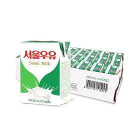 멸균우유 200ml x 24입 (1박스) 무료배송