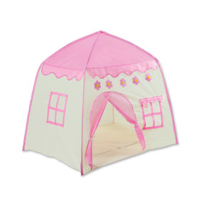 코지 하우스 텐트 핑크