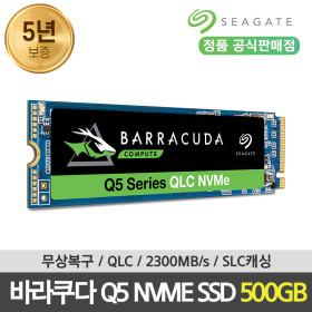 바라쿠다 Q5 M.2 NVME SSD 500GB ZP500CV3A001