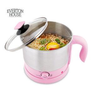 에버튼하우스 마카롱 멀티쿠커 1.5L 라면포트(핑크)