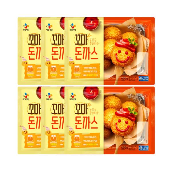 고메 바삭튀겨낸 꼬마돈카츠 450g (냉동) 6개 상품이미지