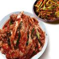 빛 국산 배추 겉절이 2KG+열무김치 2KG/김치 15%할인 V
