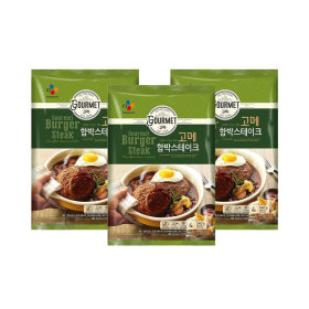 고메 함박스테이크 540g (냉동) 3개