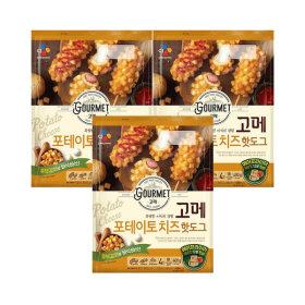 고메 포테이토치즈 핫도그 400g (냉동) 3개