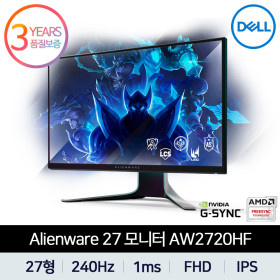 DELL Alienware 27 게이밍 모니터 AW2720HF