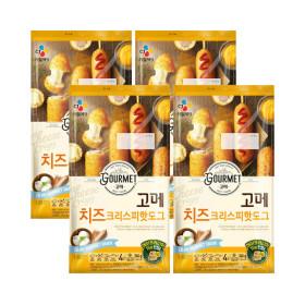 고메 치즈크리스피 핫도그 425g (냉동) 4개