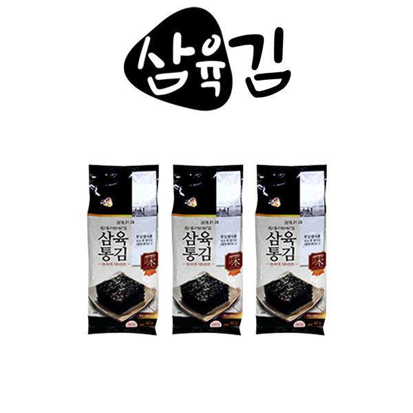 삼육김 삼육통김 64매(40g)X24봉/도시락김 상품이미지