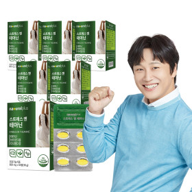 내츄럴플러스 스트레스엔 L 테아닌 60정 6박스/6개월