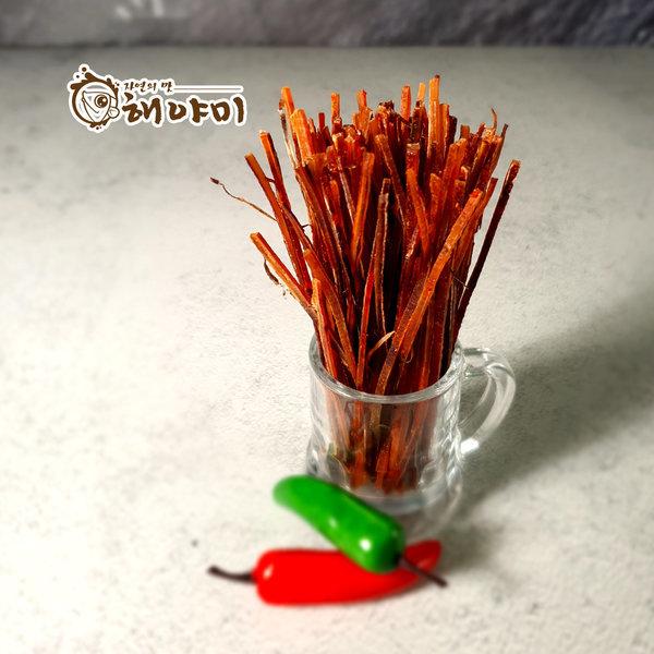 매콤한 빼빼징어 맵스틱 240g/맛있는 매운맛 상품이미지