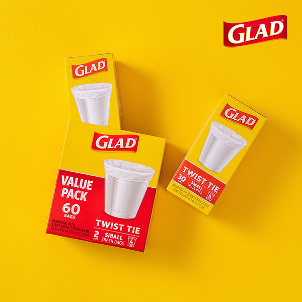 글래드 쓰레기봉투 스몰트래시백 30매입 2개 세트 상품이미지