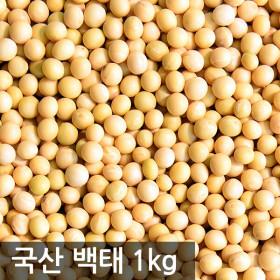 국산 백태1kg 메주콩 2020년산 햇곡