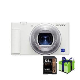 소니 ZV-1 4K128G외가방풀팩 브이로그 카메라 화이트