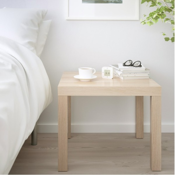 사이드테이블 침대 소파 협탁 커피다과상 원목무늬 상품이미지