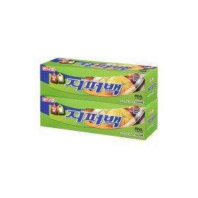 위생비닐백/유니랩 알뜰지퍼백 (대형 50매)