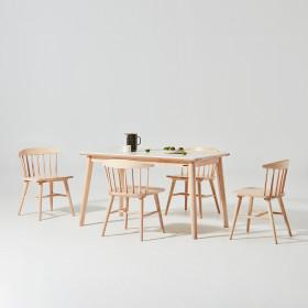 도노 세라믹 스칸디 4인 식탁세트 (의자4)