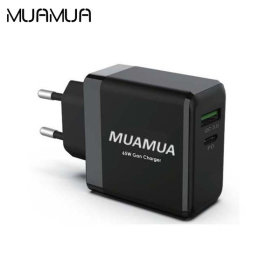 MUAMUA GaN미니급속충전기65W PD+QC3.0 USB-C