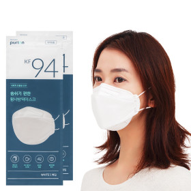 KF94 100pcs PURION Mask 50pcs X 2set Large Made in Korea 4ply Filter