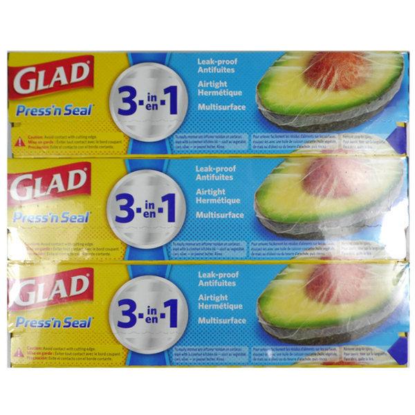 GLAD 프레스앤씰 매직랩 (43.4m x 30cm) x 3팩세트 3팩 상품이미지