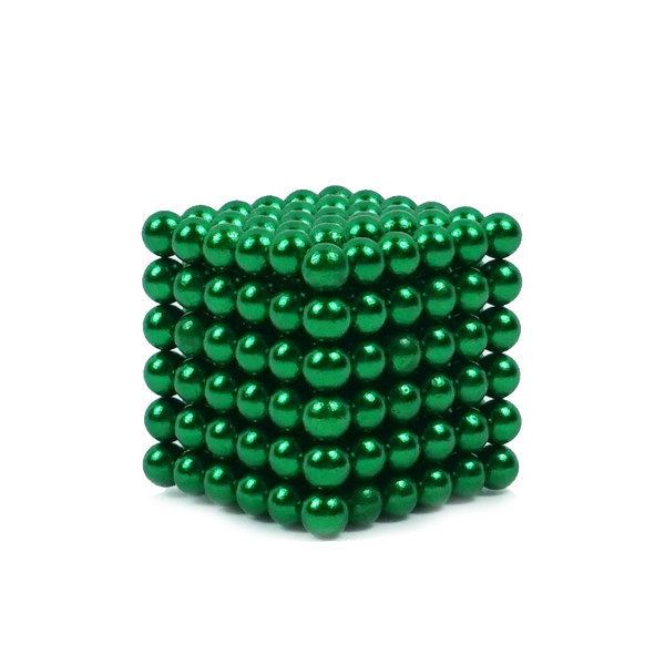 자석큐브 5mm(초록) 네오큐브 구슬자석 13색상 상품이미지