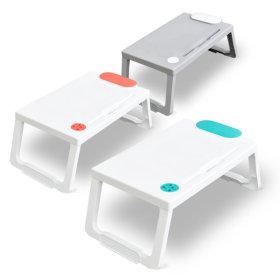 다용도 접이식 침대용 좌식 노트북 책상 소형 테이블