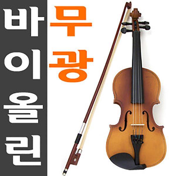 무광바니쉬처리 엄선된 단풍나무와 자작나무로 제작/레슨용 바이올린/교육용 악기/어린이 선물/케이스 상품이미지