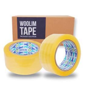 박스테이프 더블경포장(80Mx50개)L50 투명 택배 포장