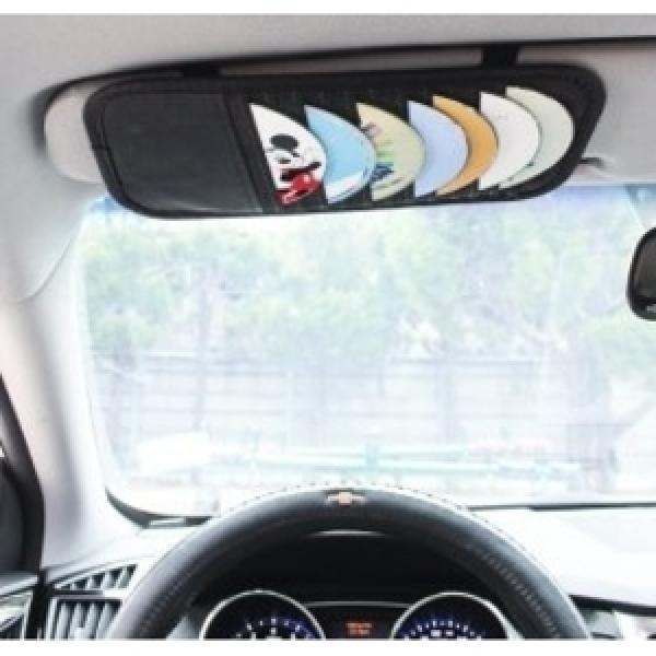 차량용 CD바이져-썬바이져 cd케이스/자동차 cd보관함/시디수납함씨디정리함/DVD/cd집/포켓자켓/가방cd꽂이 상품이미지